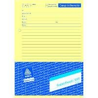 Zweckform-Formular Gesprächsnotiz 1018 50Blatt