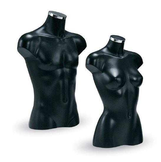 Dekobüste kurz, schwarz,Dame oder Herr
