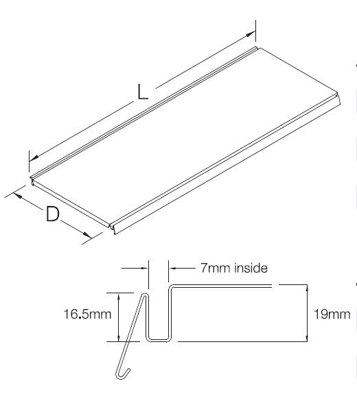 Metallfachboden