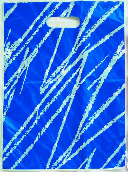Abreißtasche Modern blau,100 St div.Größen