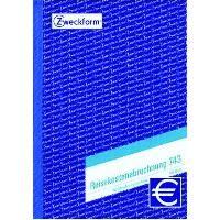 Zweckform-Formular Reisekostenabrechnung