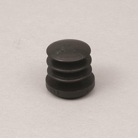 Fußkappe innen für Ø25mm, schwarz