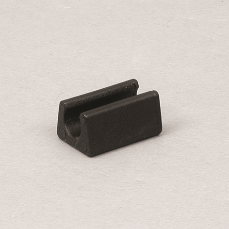 Gummifuß für Gitterrahmen 10mm, schwarz