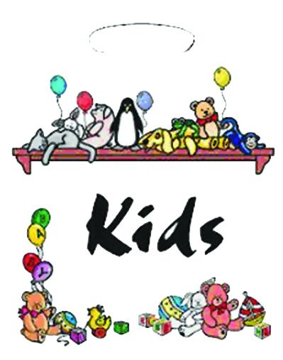 Tragetasche Kids 100 St.