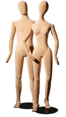Flexible Schaufensterfigur Slim Line Dame