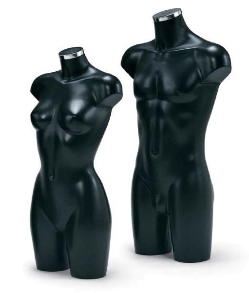 Dekobüste schwarz,Dame oder Herr