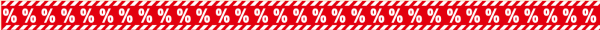 """Ankleberstreifen """"%%%%%%%% % """" , 250x12 cm"""