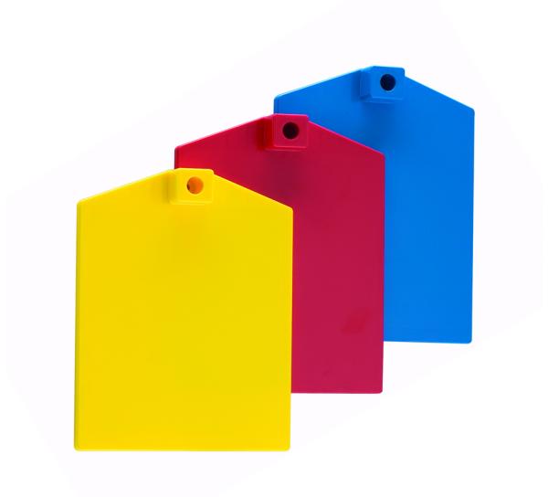 Fussplatte aus Kunststoff für Standrohr 12mm
