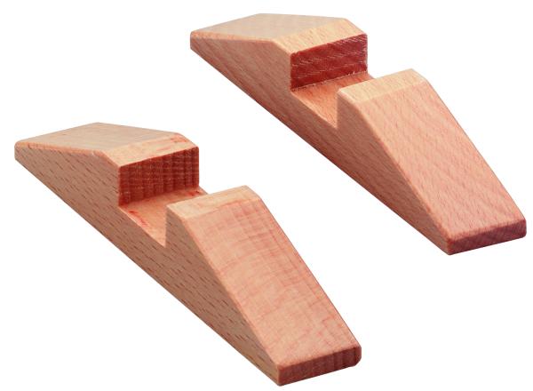 Plakatrahmenfüße Holz