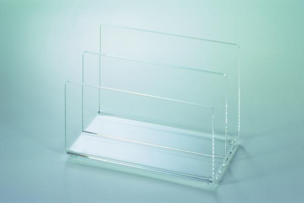 Kartenständer,glasklar