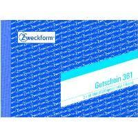 Zweckform-Formular Gutschein 361 2x50Blatt