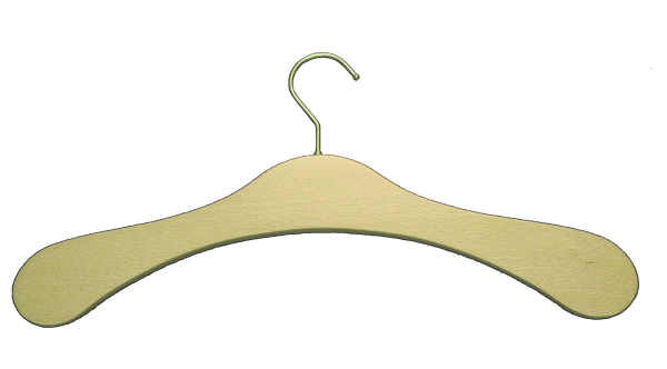 Garderobenbügel Buchenholz