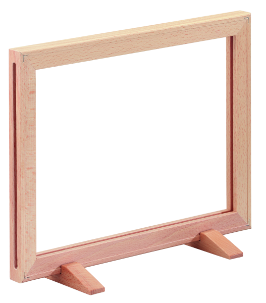 Plakatrahmen-Aufsteller Holz