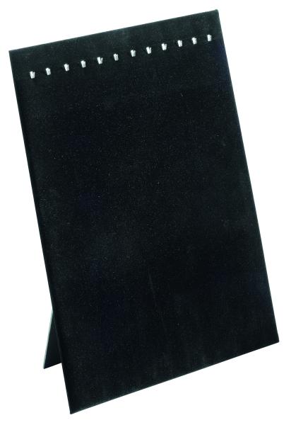 Collierpräsenter, schwarz samtiert