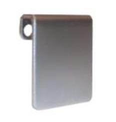 Fresh-Abdeckkappe für Wandbuchse 45x45 mm, matt chrom
