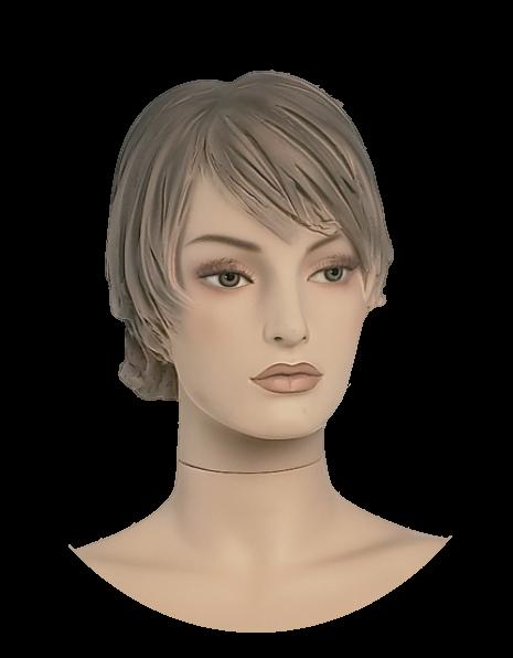 Damenkopf 2,weiß oder hautfarben