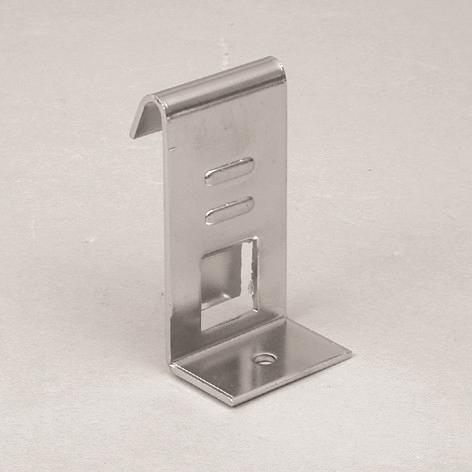 Träger für Holz- und Glasplatten chrom