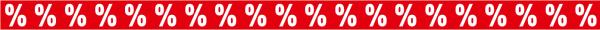 """Ankleberstreifen """"%%%%%%%"""" , 250x12 cm"""