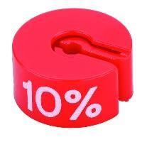 Marketingreiter rot -..%- Beutel je 25 Stck.