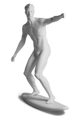 Sportfigur Surfer-Kevin