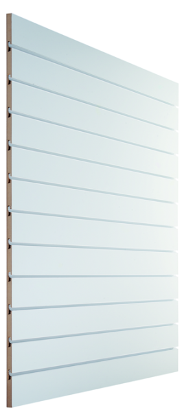 Lamellenwand Anschlussplatte 120x120cm, verschiedene Dekore