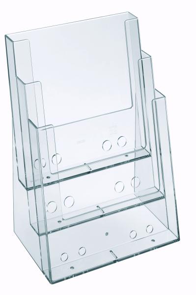 Mehrfachständer Acryl 3 Fächer