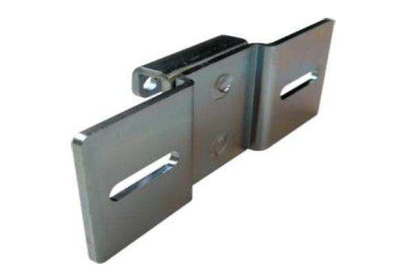 Fresh-Montageplatte für Wandbuchse 45x45 mm, matt chrom
