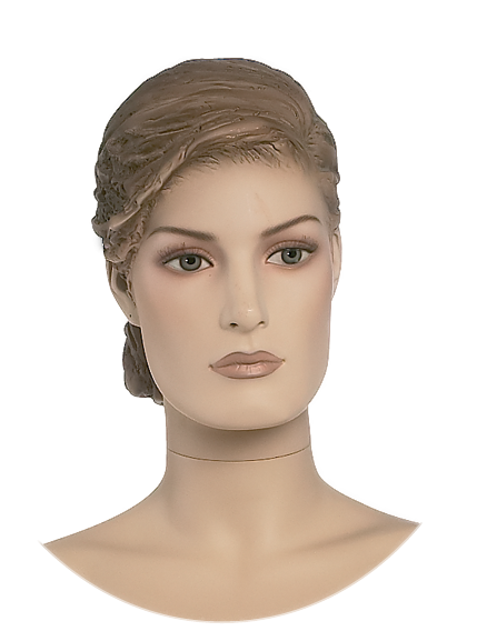 Damenkopf 1,weiß oder hautfarben