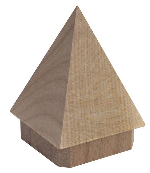 Dekor-Rohrabschluss Pyramide 60x60 mm